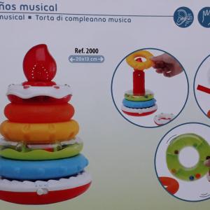 Tarta De Cumpleaños Musical